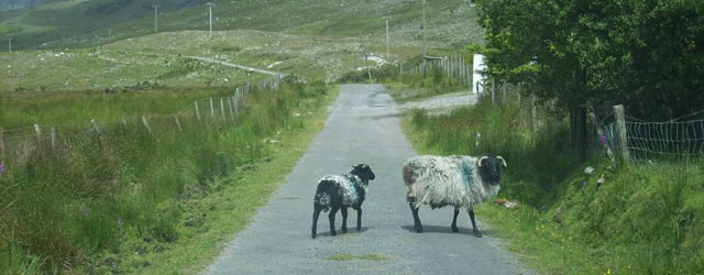 Driving in Conamara