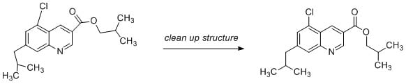 Clean up structure