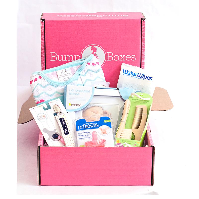 baab246227fb6 Bump Boxes  Newborn Baby Shower Gift Box - Girl