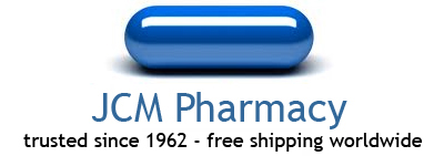 JCM Pharmacy logo