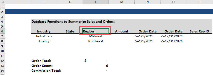 Incorrect Database Function - Problem Highlighted