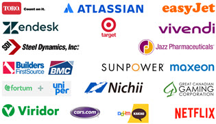 Financial Modeling Case Studies - Company Logos