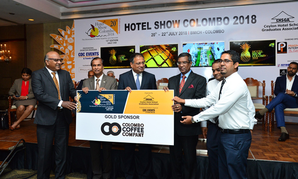 Colombo Coffee Company partners Hotel Show for 5th