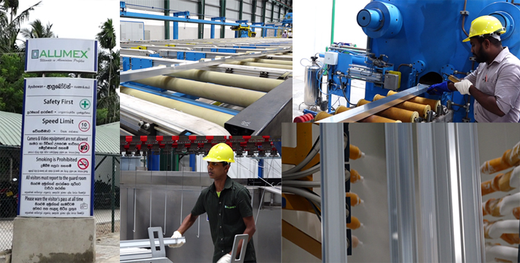 Alumex PLC Opens Sri Lanka's First Fully Automated Aluminium
