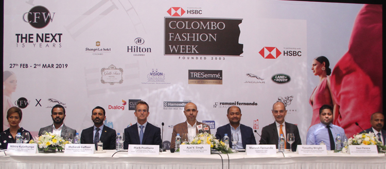 The next edition of HSBC Colombo Fashion Week signals the