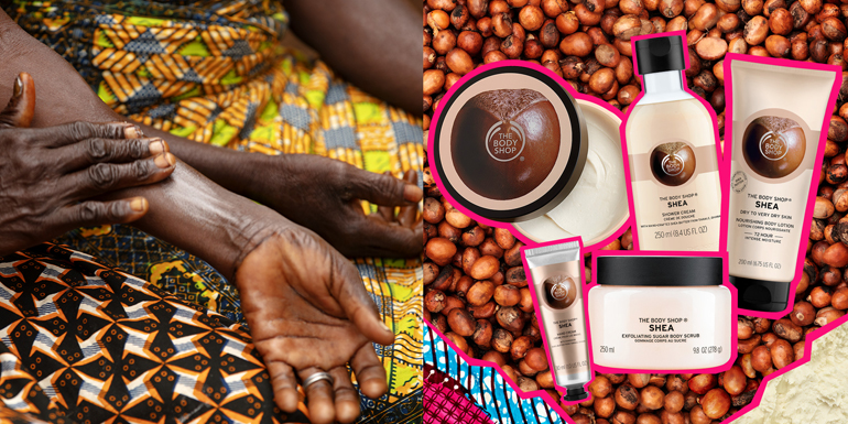 There's a SHE in every Shea' - The Body Shop celebrates 25