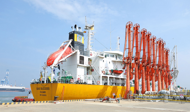 South Asia's Largest LPG Transshipment Terminal by LAUGFS Officially  Inaugurates Operations - Adaderana Biz English | Sri Lanka Business News