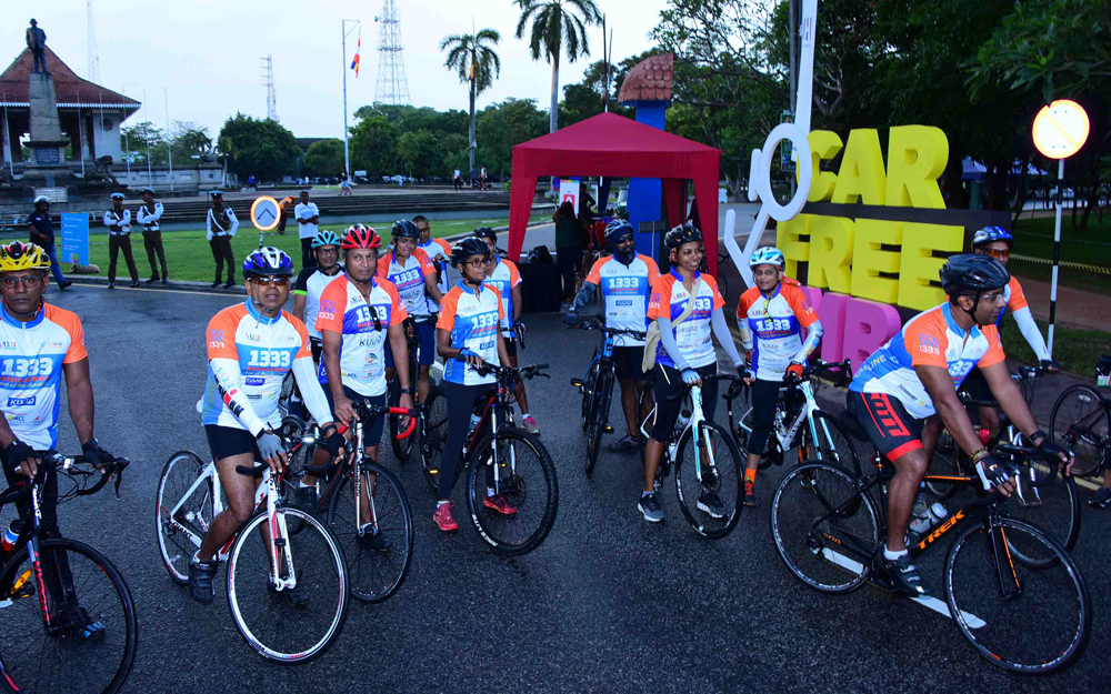 Colombo Considers Healthy Living Vehicle Free Open Street Day