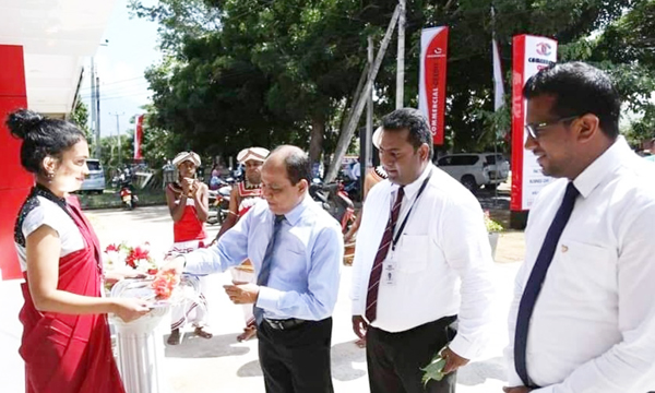 Commercial Credit re-locates branches in Ambalantota, Kegalle and