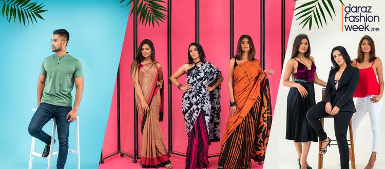 Sri Lanka S Only Online Fashion Week Daraz Fashion Week This Year Adaderana Biz English Sri Lanka Business News