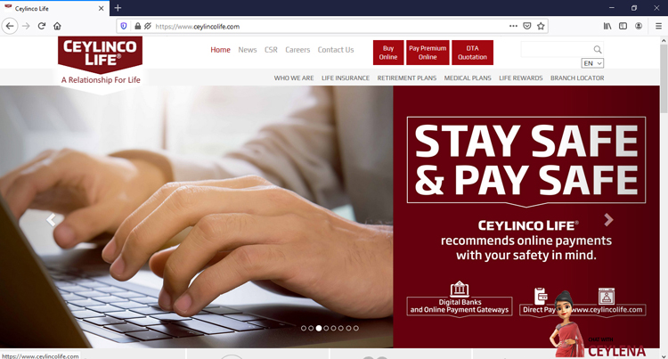 Ceylinco Life Opens Multiple Channels To Interact With Customers Staying Home Adaderana Biz English Sri Lanka Business News