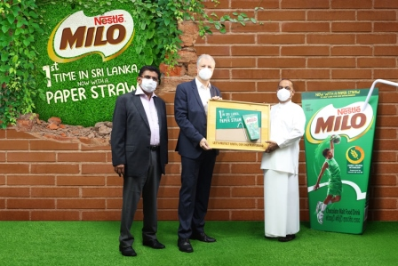 Nestlé Milo becomes first Ready-to-Drink beverage in Sri Lanka to switch to paper straws