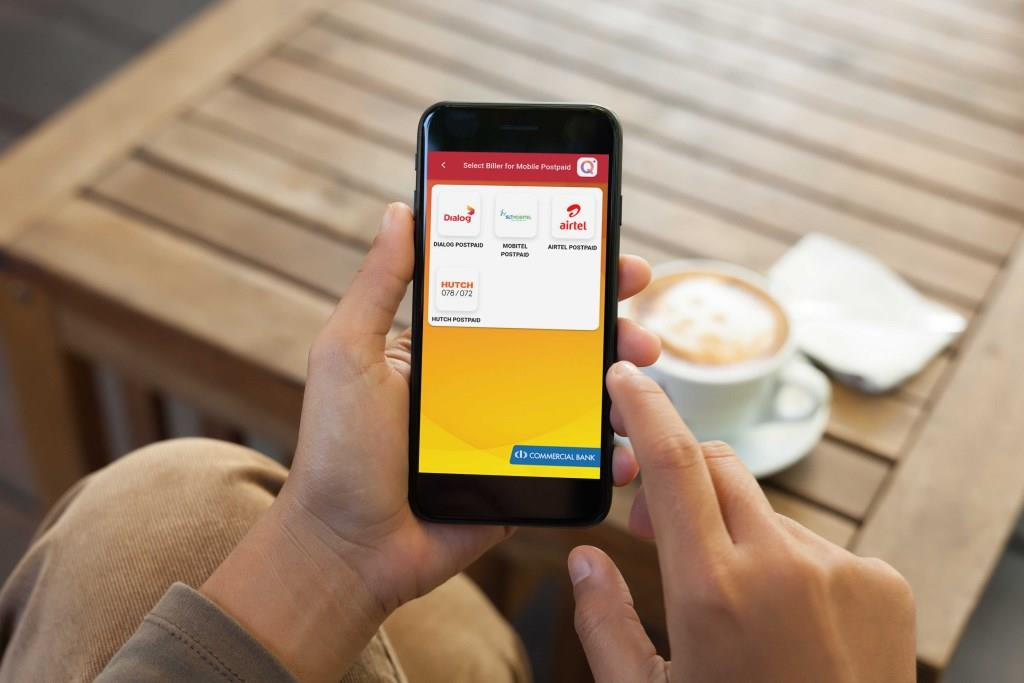 ComBank Q+ Payment App adds Airtel and Hutch for mobile bill settlement