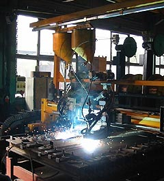 KALMETALL plate production.