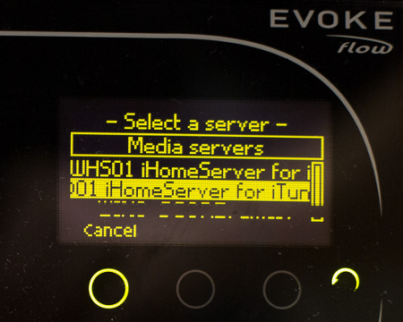 iHomeServer for iTunes : Screenshots