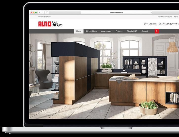 Custom Kitchen contractor web design - Powered by bizProWeb