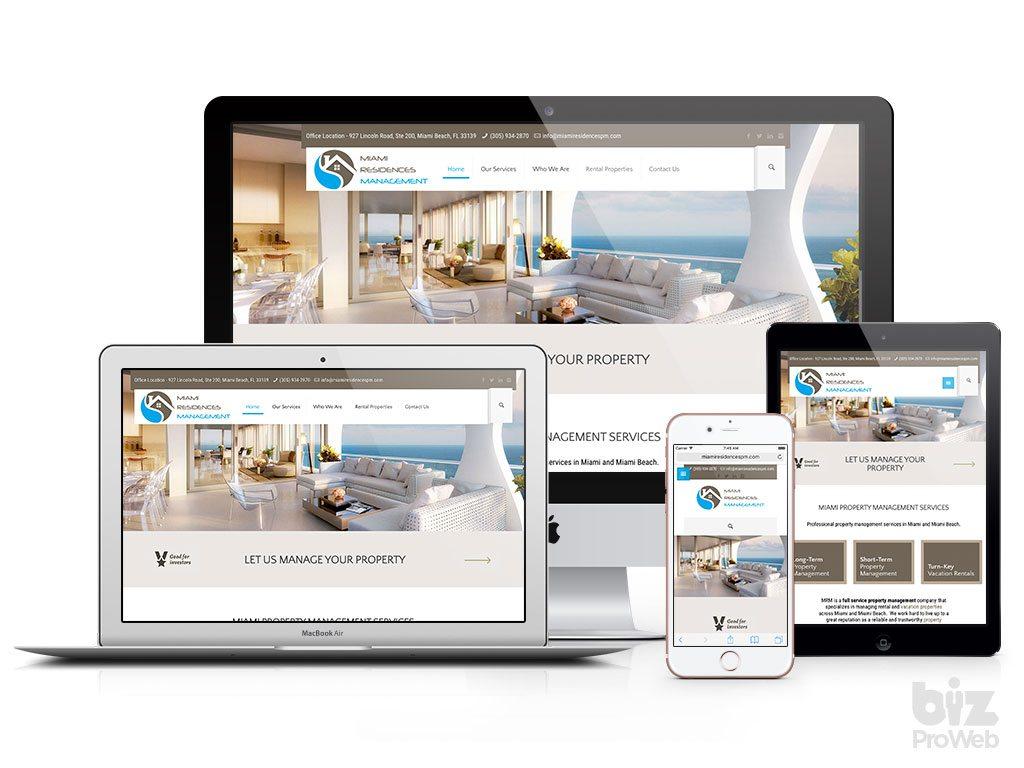 bizProWeb Contractor Web Design