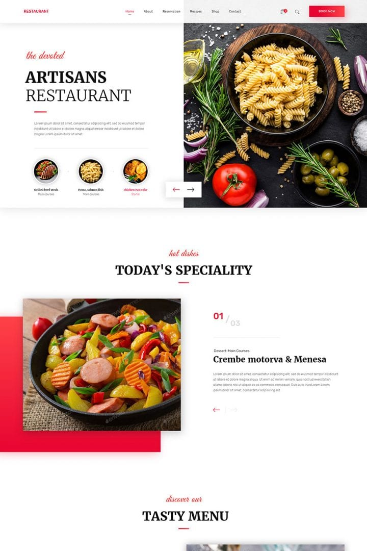 Restaurant Website Design Miami - bizProWeb - Miami Beach Digital Marketing