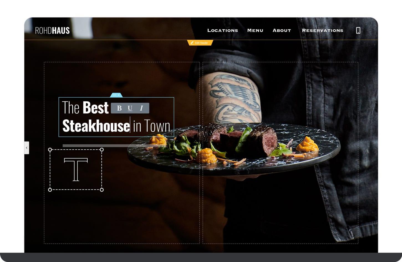 Create a great business website with bizProWeb website builder