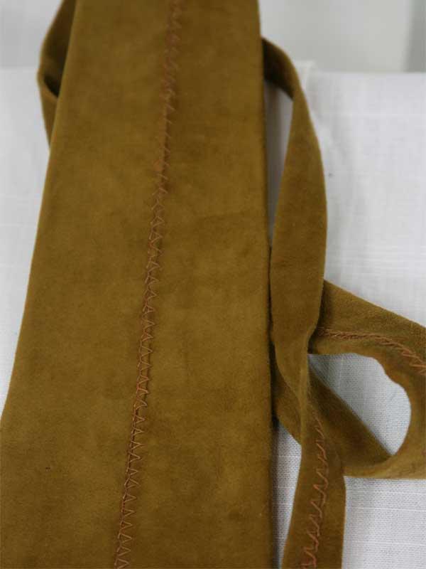 brown-suede-tie-front