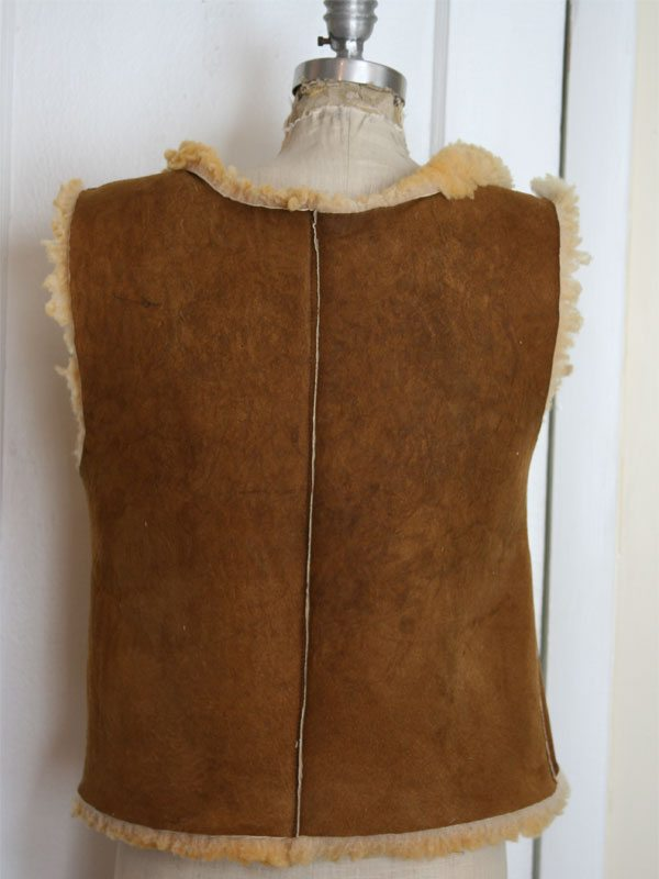Lamb-vest-back