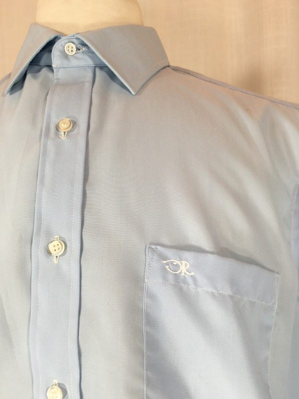 la boudoir oscar de la renta blue shirt (5)