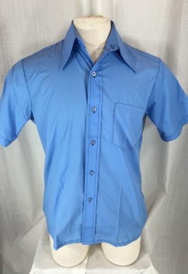 la boudoir miami 1970s mens blue short sleeve shirt (2)