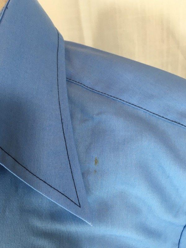 la boudoir miami 1970s mens blue short sleeve shirt (1)