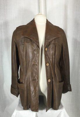 la boudoir miami 1970s brown leather mens jacket (3)