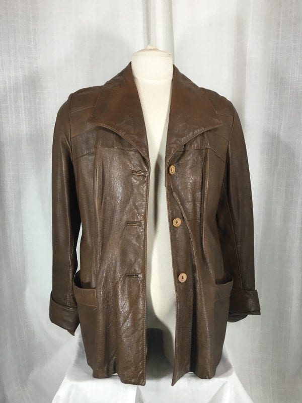 la boudoir miami 1970s brown leather mens jacket (3)