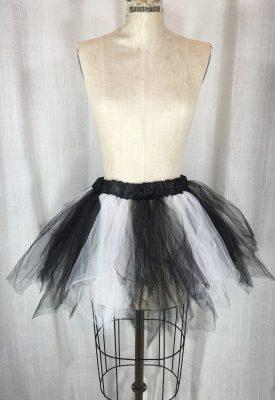 la boudoir miami white & black tulle petticoat (1)