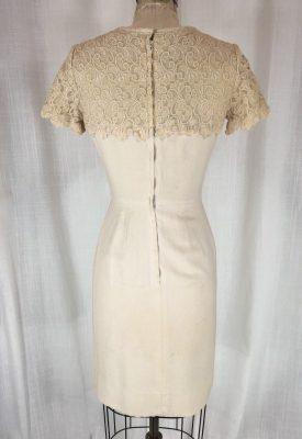 la boudoir miami 50's linen lace dress (7)