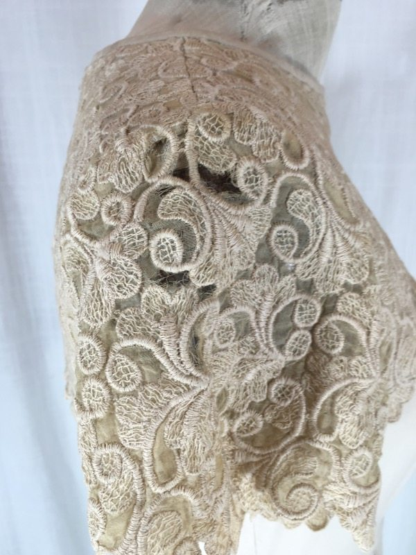 la boudoir miami 50's linen lace dress (2)