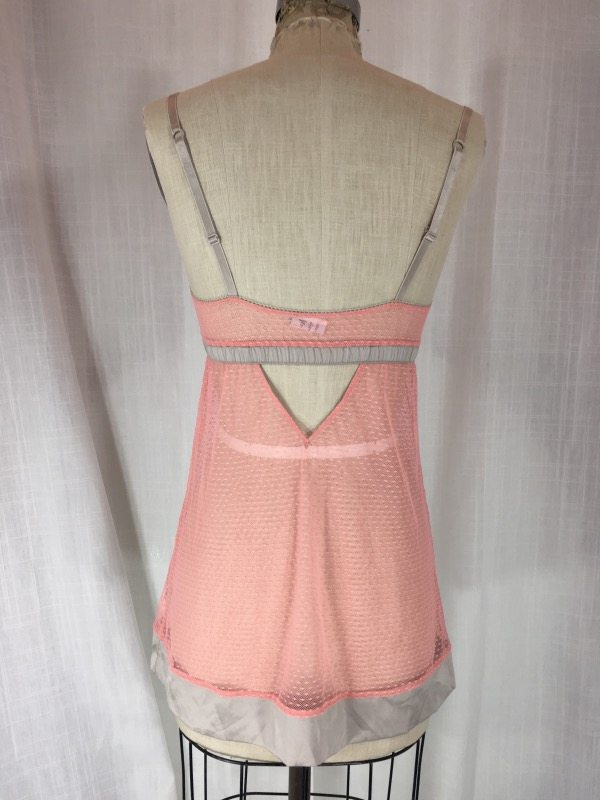 la boudoir peach nightgown (5)