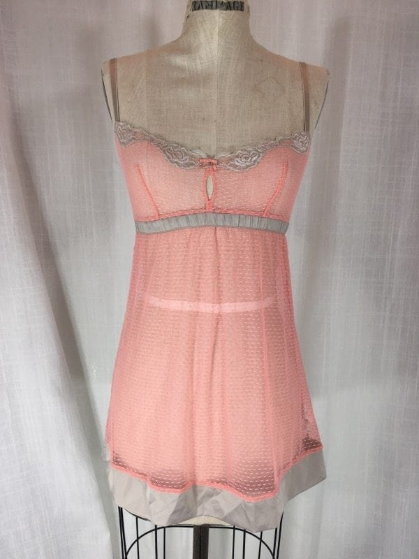 la boudoir peach nightgown (2)