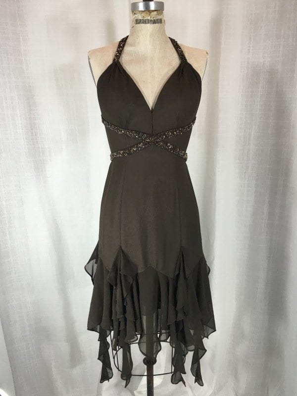 la boudoir miami brown beaded evening dress (2)