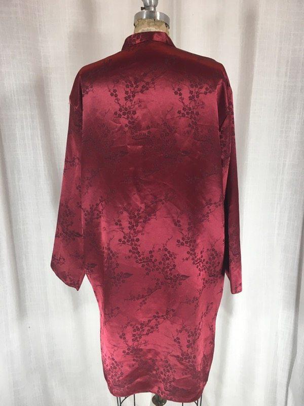 la boudoir miami 1980s red oriental robe (2)