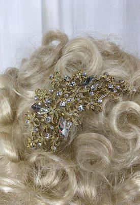 la boudoir miami vintage inspired gold rhinestone hair comb (2)