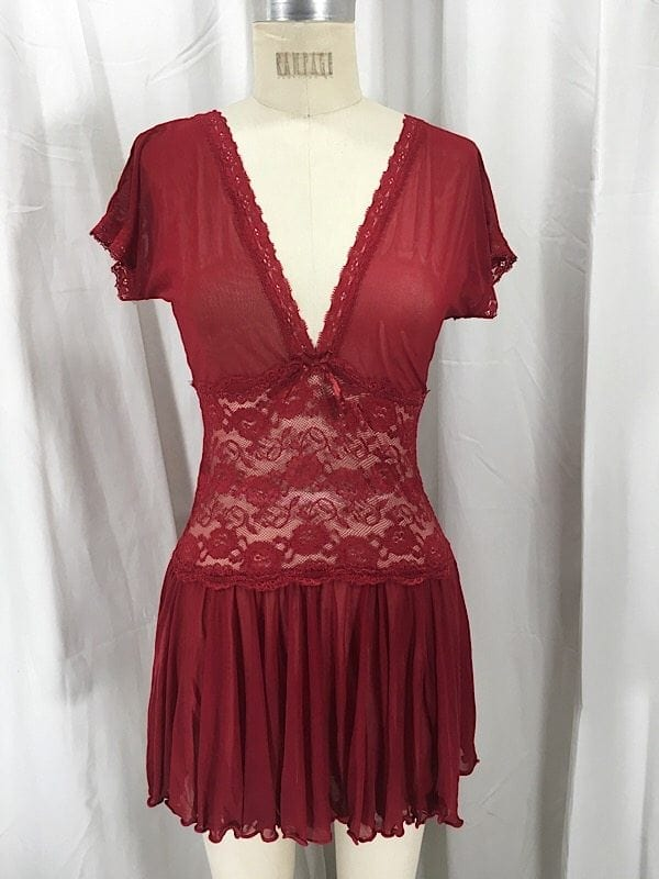 la-boudoir-miami-coquette-red-lace-sheer-nightgown-2