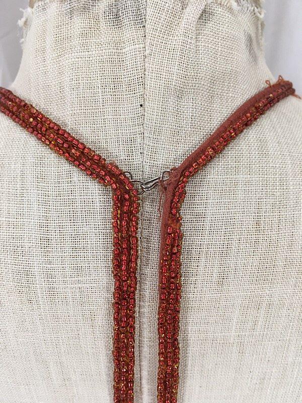 la-boudoir-miami-1990s-scala-rust-orange-sequin-cocktail-dress-9