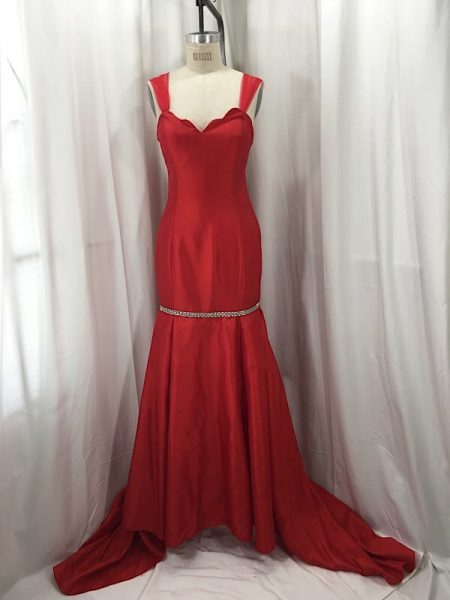 la-boudoir-miami-1950s-red-iridescent-rhinestone-evening-dress-2