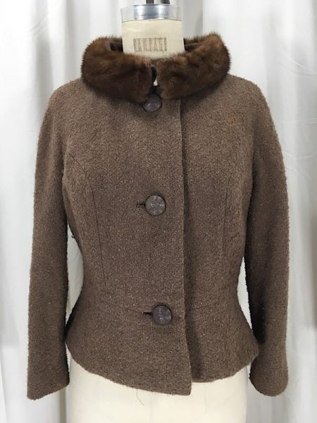 la-boudoir-miami-1950s-brown-boucle-peplum-jacket-with-brown-mink-fur-collar-2