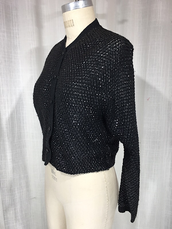 la-boudoir-miami-1950s-black-knit-sequin-sweater-7