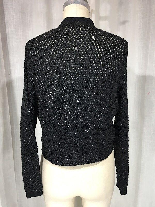 la-boudoir-miami-1950s-black-knit-sequin-sweater-7