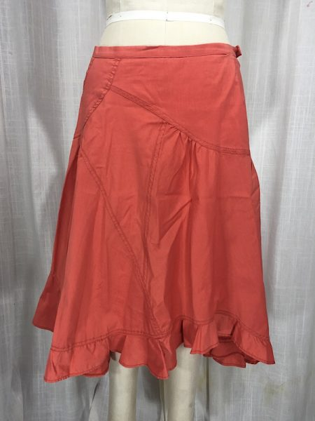 la-boudoir-miami-coral-brushed-denim-praire-skirt-5