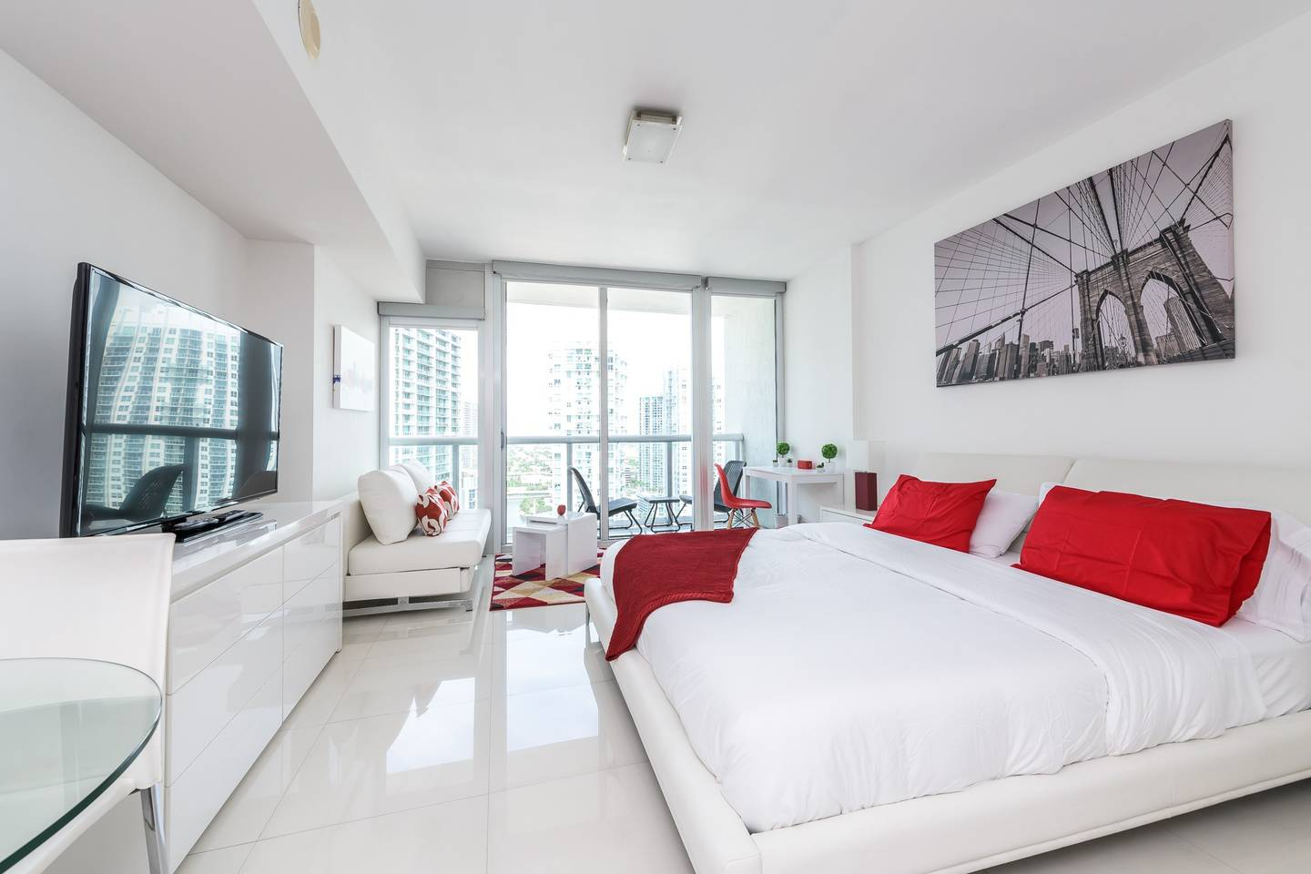 Waterfront Luxury Studio W Hotel Brickell