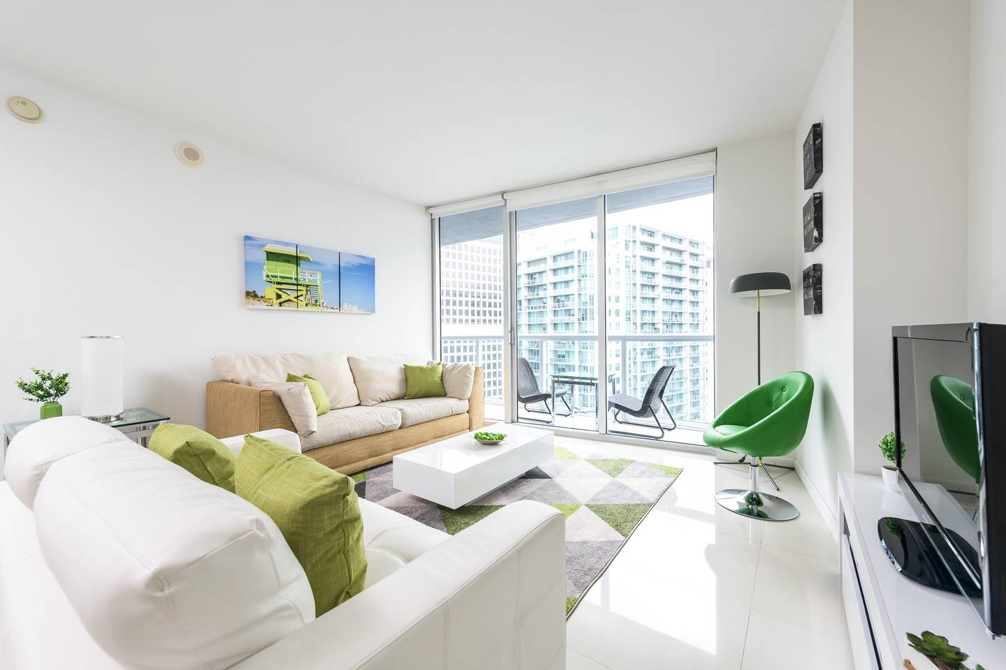 Waterfront Luxury 1 Bedroom Unit W Hotel Brickell