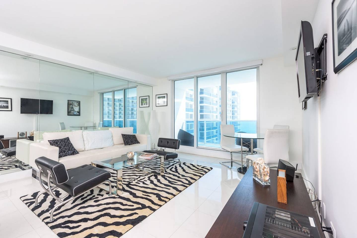 Large 2BR Oceanfront at Roney Palace South Beach