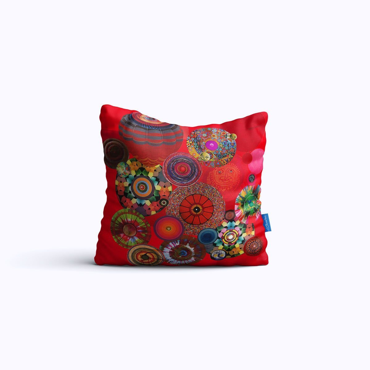 RMS007-Asteroid Waltz - Throw Pillow - Swedroe Licensing