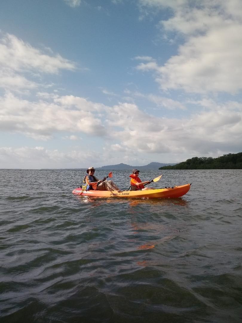 Reel Inn in Panama's Kayak tours